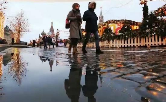 Mùa đông không tuyết ở Moscow