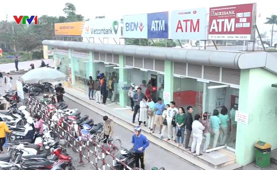 Ngân hàng chủ động giảm tải ATM dịp Tết