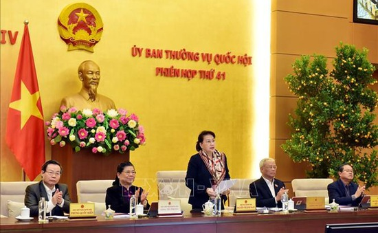 Phiên họp thứ 41 Ủy ban Thường vụ Quốc hội