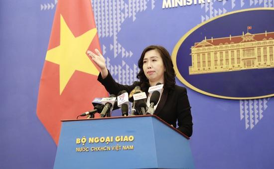 Phản ứng của Việt Nam trước việc Trung Quốc thử nghiệm đập Cảnh Hồng