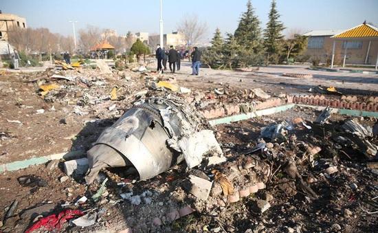 Phát hiện đầu tiên về vụ rơi máy bay ở Iran