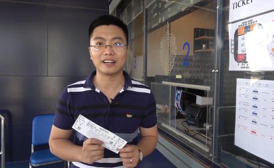Trải nghiệm mua vé theo dõi trận đấu của U23 Việt Nam