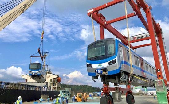 Vận chuyển toa tàu Metro số 1 về TP.HCM