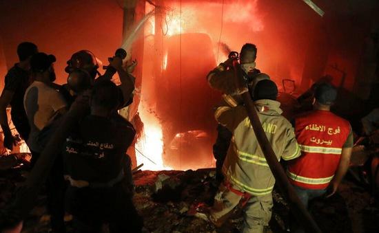 Cháy nổ bể chứa nhiên liệu tại Beirut, hàng chục người thương vong