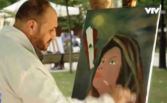 Ủng hộ nạn nhân vụ nổ Beirut thông qua triển lãm tranh