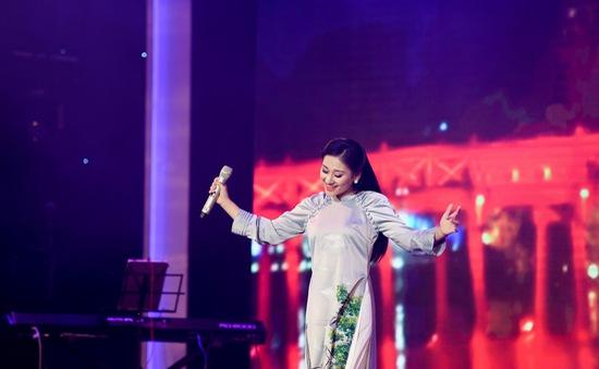 Cô gái trẻ xứ Nghệ giành Á quân Giọng hát hay Hà Nội 2020
