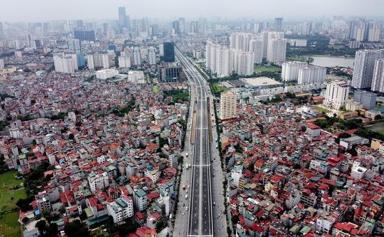 Thông xe tuyến đường Vành đai 3 trên cao đoạn Mai Dịch - Nam Thăng Long hơn 5.300 tỷ đồng