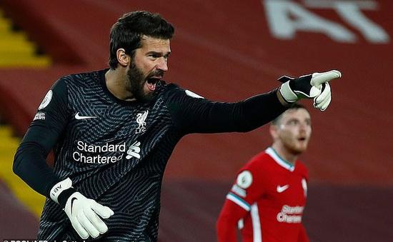 Liverpool tìm kiếm thủ môn mới thay Adrian