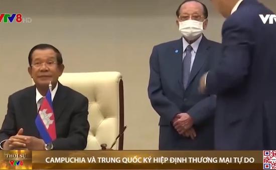 Campuchia và Trung Quốc ký hiệp định thương mại tự do