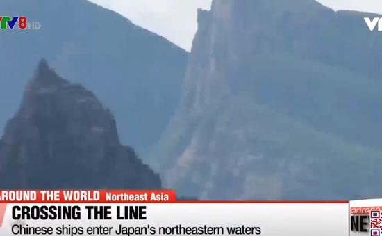 Nhật Bản cáo buộc tàu Trung Quốc xâm nhập vùng lãnh hải nước này