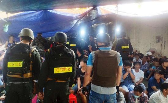 Khởi tố, bắt tạm giam 43 người trong vụ sới đá gà khủng ở TP.HCM