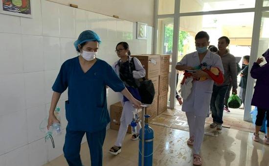 Hỗ trợ từ xa cấp cứu sản phụ sinh con non tháng tại huyện đảo Cô Tô