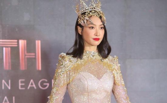 Sau nhiều ồn ào, nữ thần Kim ưng Tống Thiến xuất hiện nhạt nhòa