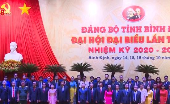 Bế mạc Đại hội đại biểu Đảng bộ tỉnh Bình Định