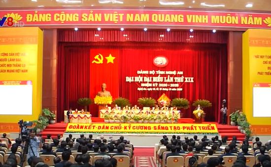 Khai mạc Đại hội Đảng bộ tỉnh Nghệ An