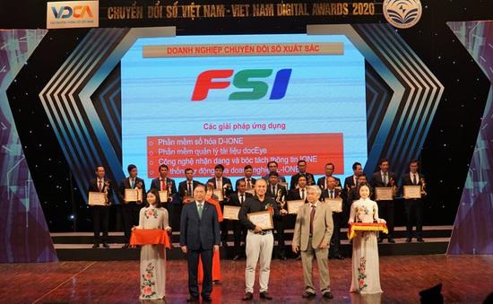 FSI đạt giải Doanh nghiệp Chuyển đổi số xuất sắc 2020