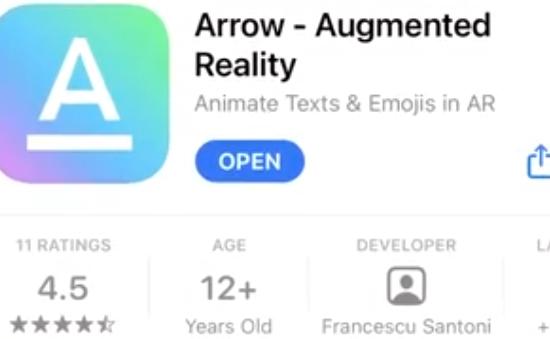 Arrow - Ứng dụng quay video sử dụng công nghệ thực tế ảo