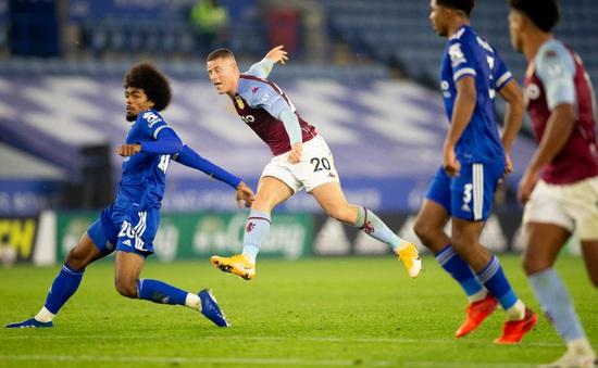 Thắng tối thiểu Leicester City, Aston Villa tiếp tục bay cao ở Ngoại hạng Anh