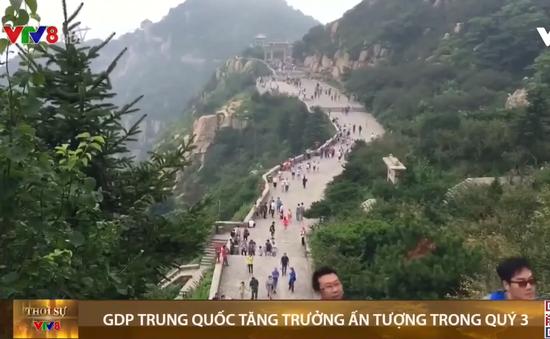 GDP Trung Quốc tăng trưởng ấn tượng trong quý 3
