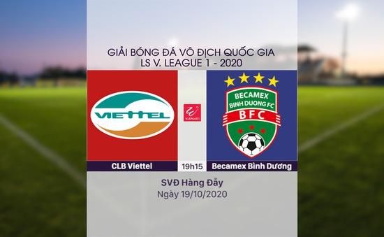 VIDEO Highlights: CLB Viettel 1-0 Becamex Bình Dương (Vòng 3 Giai đoạn 2 V.League 2020, nhóm A)