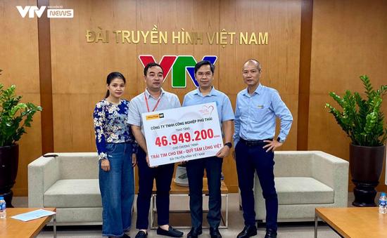 Công ty Phú Thái Cat đồng hành cùng Trái tim cho em hỗ trợ phẫu thuật cho bệnh nhi tim bẩm sinh