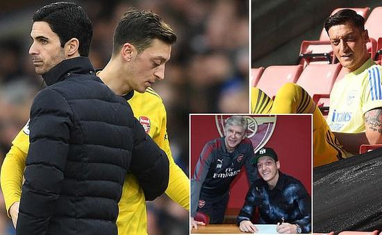 Bị loại khỏi đội hình Arsenal, Ozil viết tâm thư gửi người hâm mộ