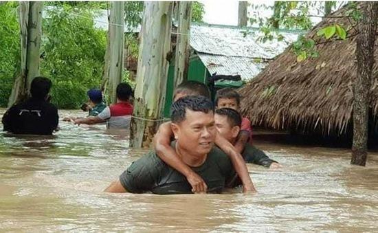 Gần nửa triệu người Campuchia bị ảnh hưởng bởi lũ lụt
