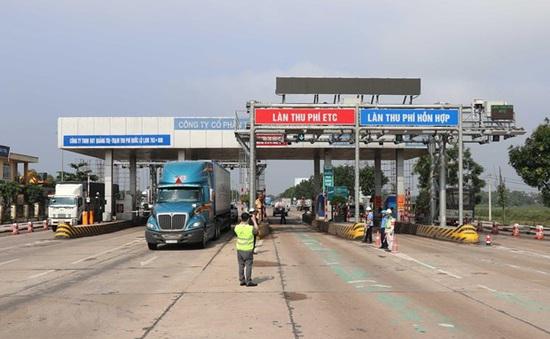 Miễn phí qua trạm BOT Quảng Trị với xe hỗ trợ vùng lũ