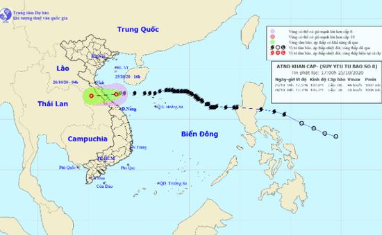 Bão số 9 mạnh tương đương bão Damrey, gây ảnh hưởng lớn ở Trung và Nam Trung Bộ