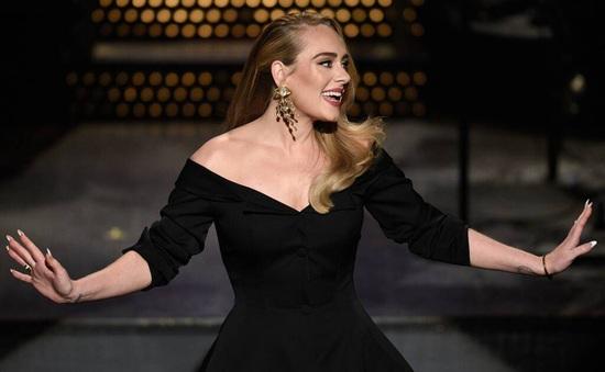 Adele lần đầu xuất hiện trên truyền hình hậu giảm cân