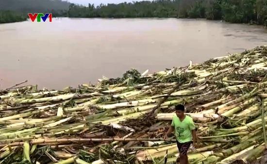 Bão Molave tàn phá Philippines trước khi đổ bộ Việt Nam