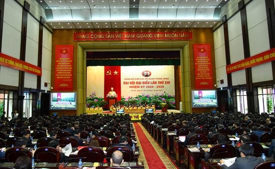 Khai mạc Đại hội Đảng bộ Khối các cơ quan Trung ương