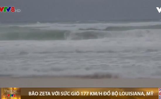 Bão Zeta với sức gió 177 km/h đổ bộ Louisiana, Mỹ