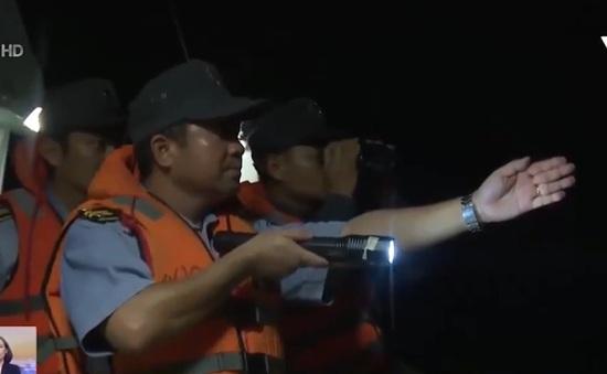 Khẩn trương tìm kiếm ngư dân Bình Định bị nạn ở Khánh Hòa