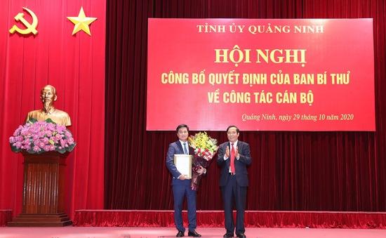 Thứ trưởng Bộ Xây dựng giữ chức Phó Bí thư Tỉnh ủy Quảng Ninh