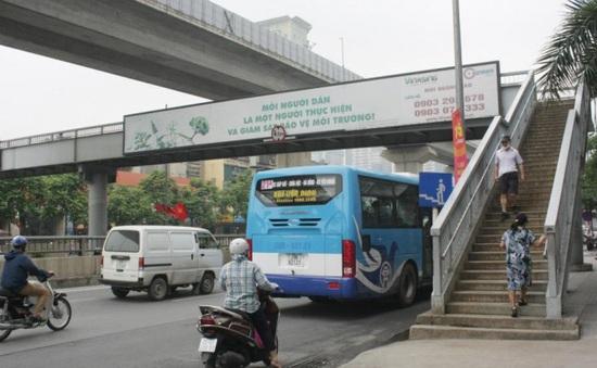 Hà Nội sẽ xây thêm cầu vượt cho người đi bộ trên đường Nguyễn Trãi