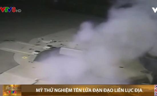 Mỹ thử nghiệm tên lửa đạn đạo liên lục địa