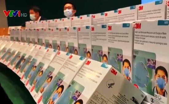Hong Kong (Trung Quốc) thu giữ gần 100 nghìn khẩu trang giả