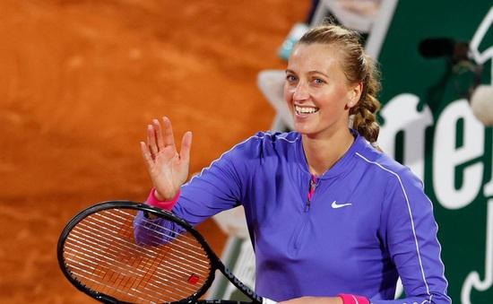 Vòng 3 đơn nữ Pháp mở rộng 2020: Petra Kvitova đi tiếp, Muguruza bị loại