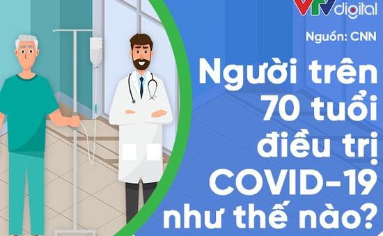 [INFOGRAPHIC] Người trên 70 tuổi điều trị COVID-19 như thế nào?