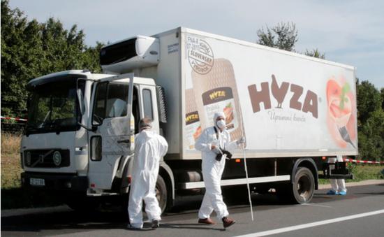 Hungary phát hiện 45 người nhập cư Syria trên xe tải