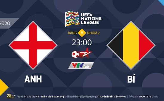 Đại chiến UEFA Nations League trở lại trên VTVcab