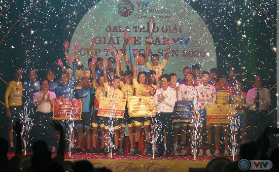 Gala bế mạc và trao giải Giải xe đạp VTV Cúp Tôn Hoa Sen 2020