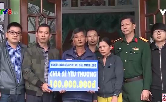 Trao hỗ trợ các gia đình liệt sĩ hy sinh tại Rào Trăng