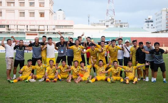 CLB Gia Định giành tấm vé cuối cùng lên giải hạng nhất 2021