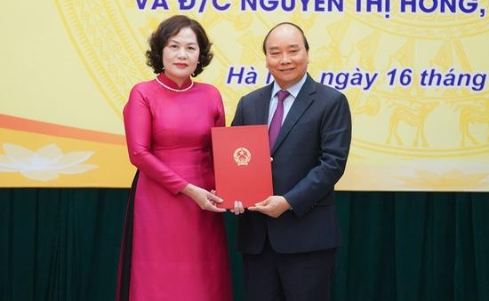 Thủ tướng giao nhiệm vụ cho các tân Bộ trưởng, Thống đốc NHNN