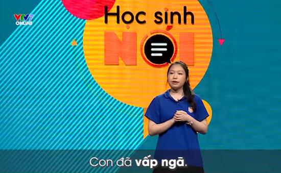 Học sinh nói lên sóng VTV7 từ hôm nay (16/11)