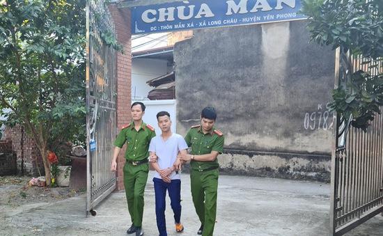 Cạy két trong nhà chùa, trộm tiền mang gửi ngân hàng
