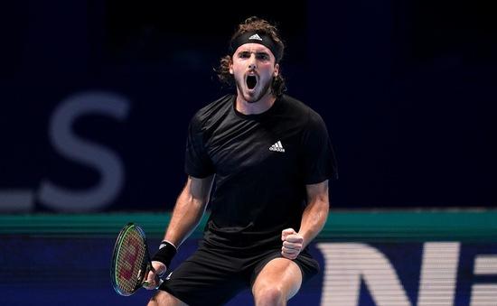 ATP Finals: Giành chiến thắng trước Rublev, Tsitsipas tiếp tục nuôi hy vọng