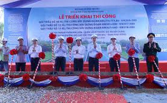 Đồng loạt triển khai 3 gói thầu cao tốc Bắc - Nam đoạn Mai Sơn - Quốc lộ 45